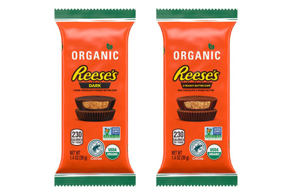 Reese's adds its Peanut Butter Cups to organic lineup