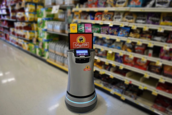 Confectionery takes its place at the tip of a potential robotic retail revolution