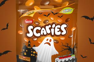 Smarties go Scaries for Halloween