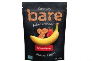 Bare Snacks introduces new Strawberry Banana Chips