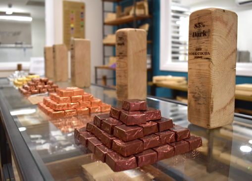 Reviving the golden age of British chocolate making