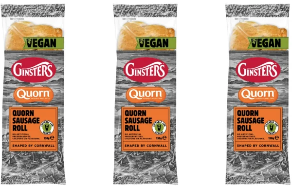 Ginsters launches Vegan Quorn Sausage Roll