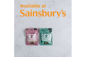 Seed Snacks arrive in Sainsbury's stores