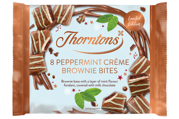 Finsbury Food Group remasters full Thorntons cake bites and bars range