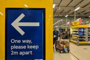 Two metre rule for social distancing is costing industry severely