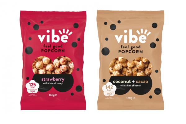 Tangerine launches Vibe Feel Good popcorn