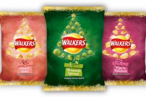 Unusual crisp flavours for Christmas hit shelves