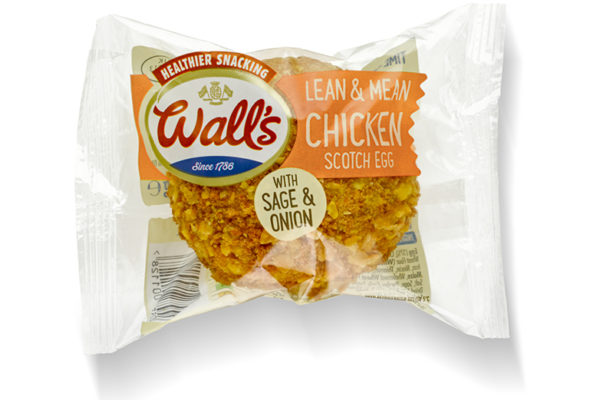 Wall's Pastry expands chicken pastry range with introduction of Chicken Scotch Egg