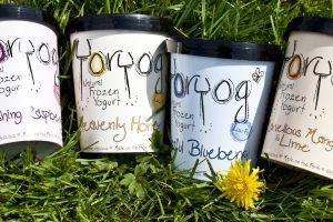 Frozen yogurt in four new sizes