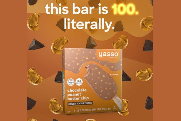 Yasso Frozen Greek Yogurt Bars now 100 calories or less