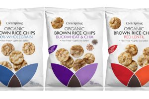 Clearspring launches Organic Brown Rice Chips