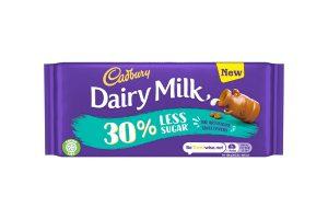 Cadbury launches reduced sugar Dairy Milk