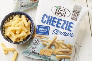 Vegan Cheezie Straws from Eat Real