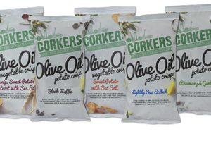 Corkers launches olive oil crisp range