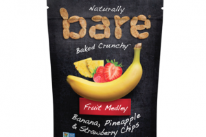 Bare Snacks' Fruit Medley Chips storm the snacks aisle