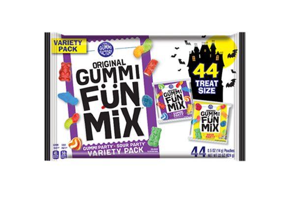 Original Gummi FunMix launch Halloween themed packs