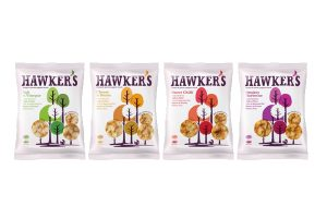 Hawker's Snacks launch vegan popped chips