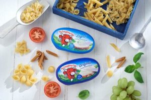 The Laughing Cow showcases new cheesy Tubs