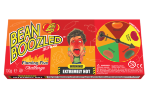 Jelly Belly presents fans with new BeanBoozled Flaming Five Challenge