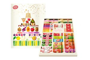 35 Japanese KitKat flavours in one box
