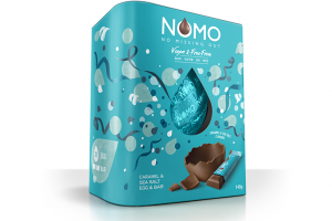 NOMO launches vegan and free-from Easter eggs