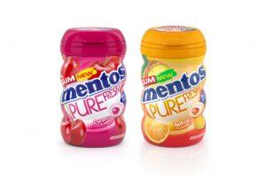 Mentos Pure Fresh Gum gets fruity refresh