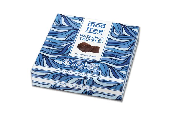 Moo Free reformulates its free from pralines