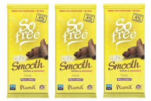 Plamil launches dairy-free, no added sugar 'milky' chocolate bar