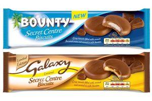 Mars introduces Secret Centre biscuits