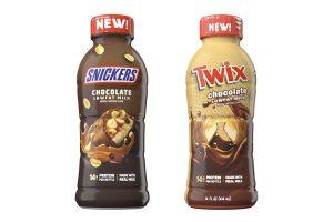 Nestlé USA introduces Snickers and Twix milks
