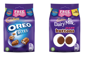 Cadbury and Merlin reunite for on-pack promotion