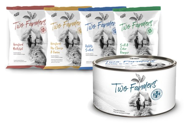 Two Farmers Crisps launches new sharing sizes