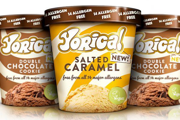 Yorica's allergen-free ice cream now in supermarkets